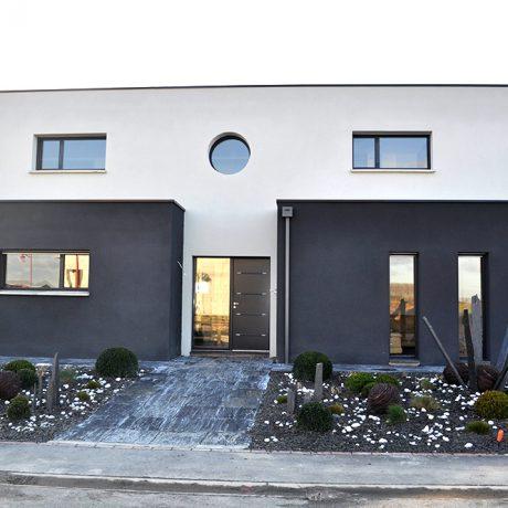 Maison moderne cubique