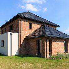 Maison cubique moderne à Bachy